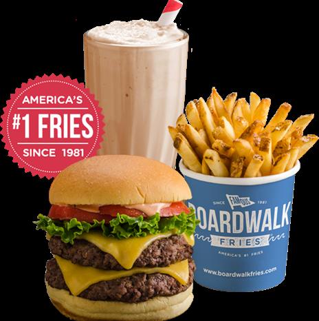 Boardwalk Fresh Burger's completo