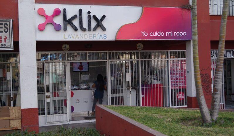 Klix Lavanderías completo